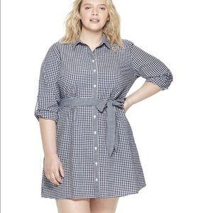 VINEYARD VINES FOR TARGET Gingham Dress 2x NWT!